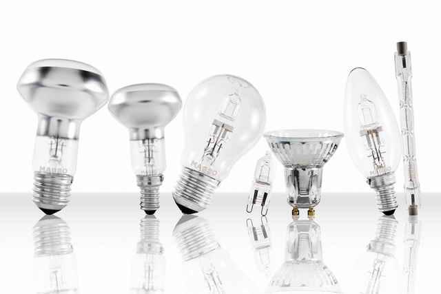 Виды галогеновых ламп